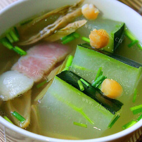 冬瓜连锅汤