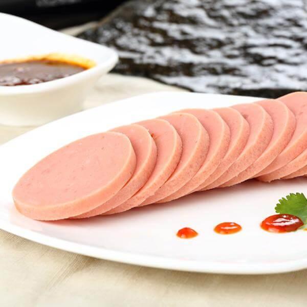 韭菜炒瑶柱火腿肠