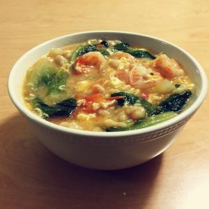 营养的鸡蛋番茄疙瘩汤