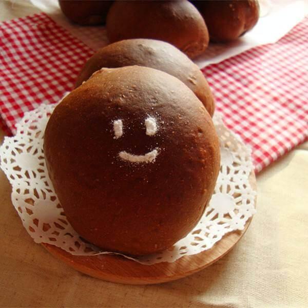 香甜的巧克力面包