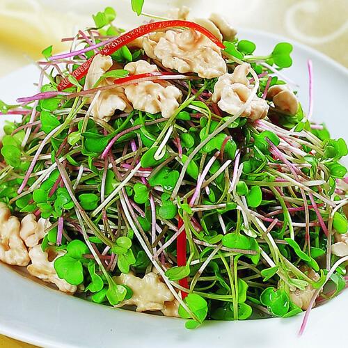 豌豆炒肉沫