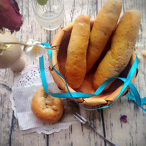 栗子馅面包棒