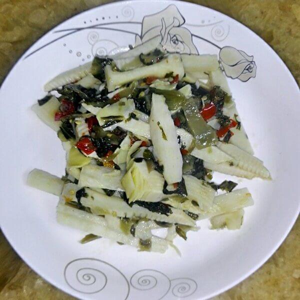 酸菜笋粉土豆