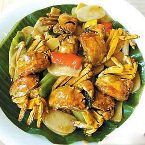 香炒白玉蟹