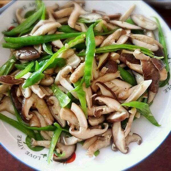 竹笋炒香菇