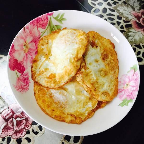 土鸡蛋煎荷包蛋