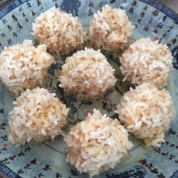 菠菜虾仁丸