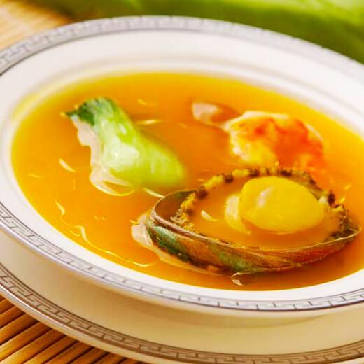 浓汁萝卜鲍鱼汤