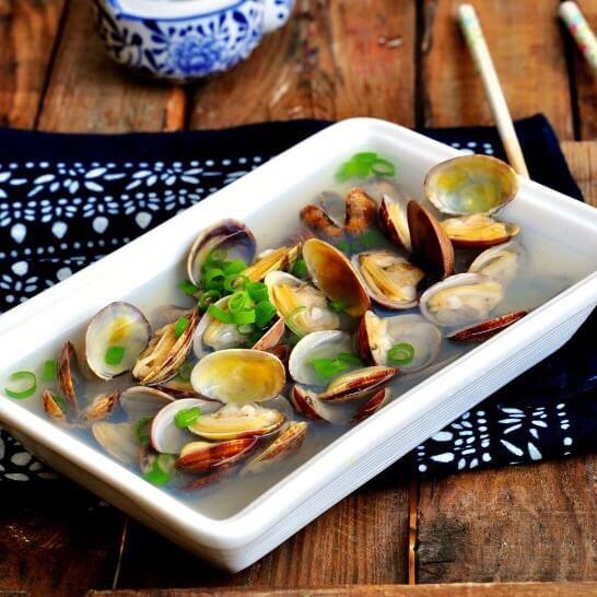美味的清水花蛤