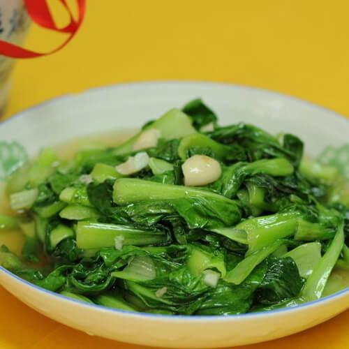 素菜蒜泥炒青菜