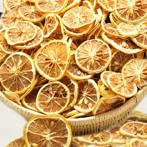 自制柠檬片