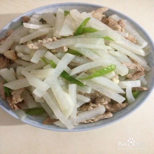 白萝卜丝羊肉汤