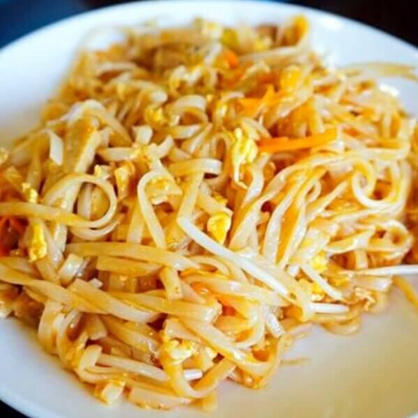 黄豆芽炒米粉