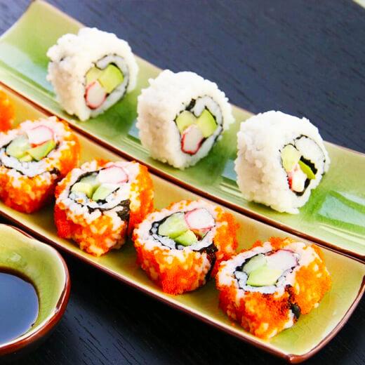 #记忆#樱花加州寿司