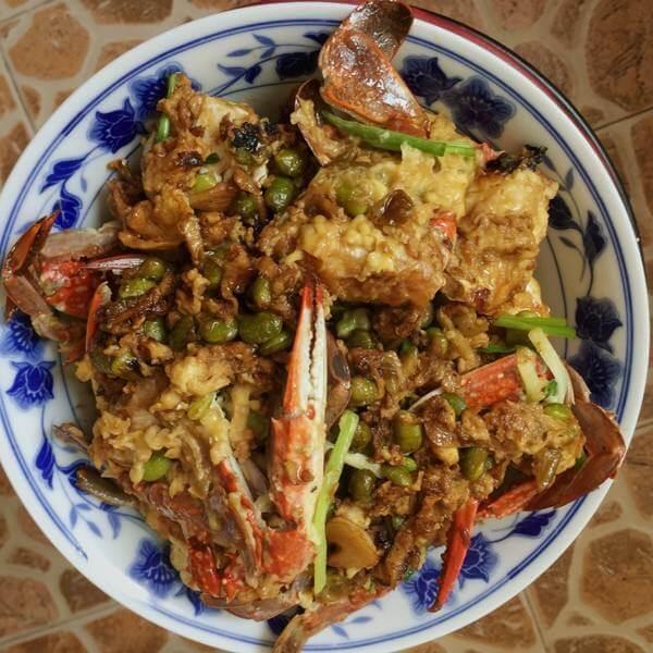 老上海面拖蟹