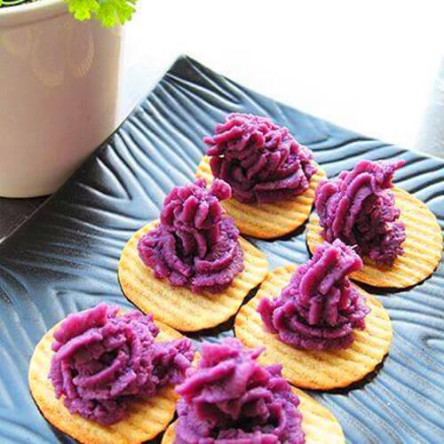 [简单版]紫薯泥
