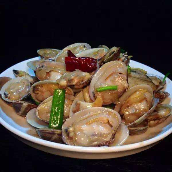 沙茶炒花蛤