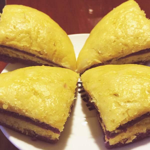 紫薯南瓜千层饼
