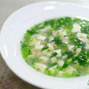 西洋菜豆腐汤