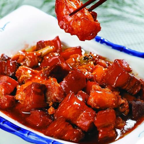 鲍鱼焖猪肉