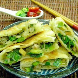韭菜木耳虾仁馅饼