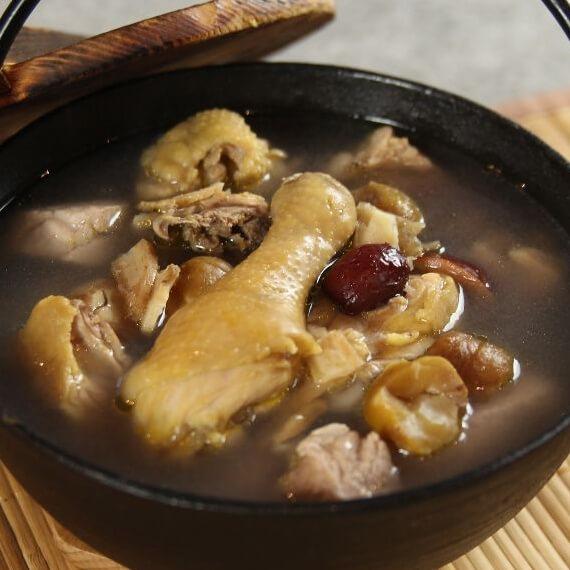 好喝的韩式人参鸡汤