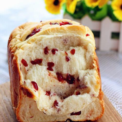 桂香芝士蔓越莓面包