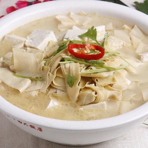 大头菜炖干豆腐