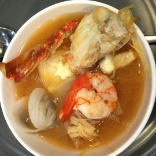 腊味海鲜汤