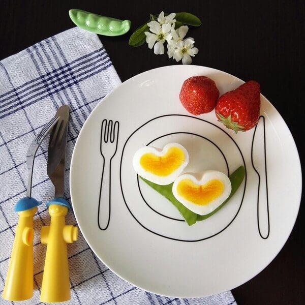 爱心水煮鸡蛋