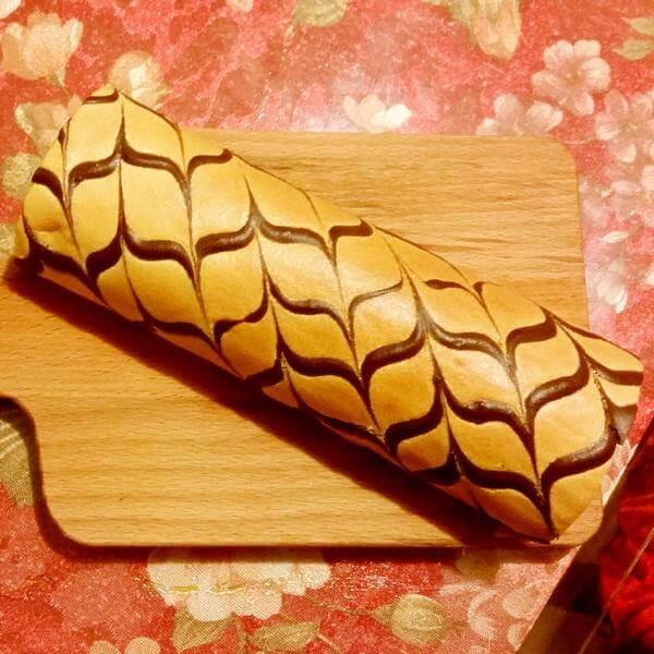 草莓果酱千叶纹蛋糕卷