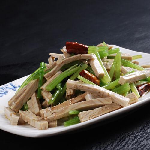 酸豆角炒香干