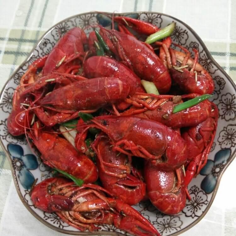 好吃的五香小龙虾