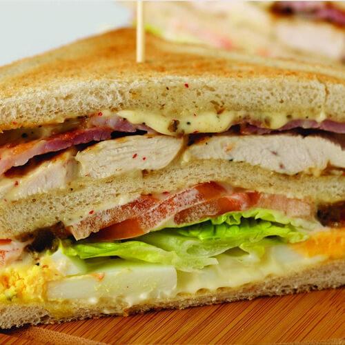 美味营养三明治