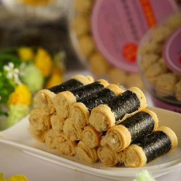 海苔黄油蛋卷