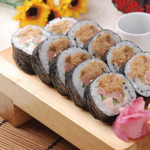 肉松反转寿司