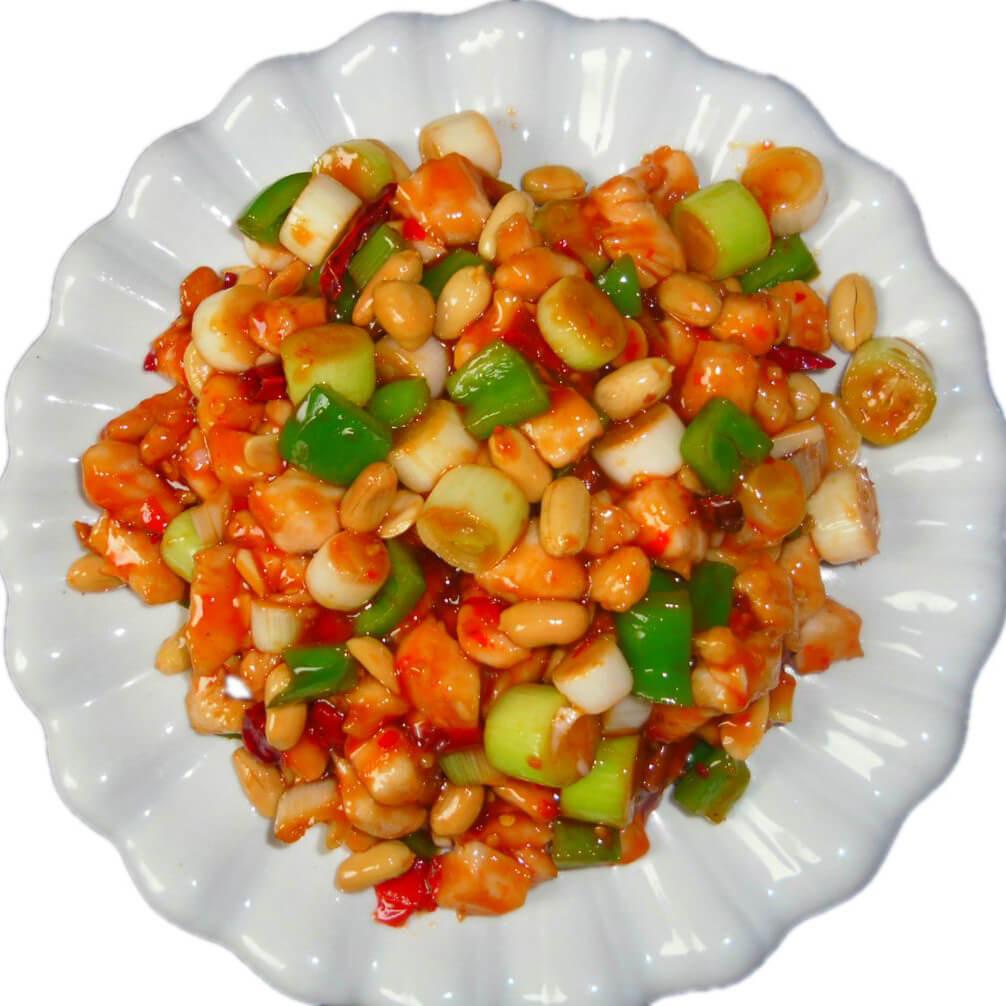 酱萝卜炒鸡丁
