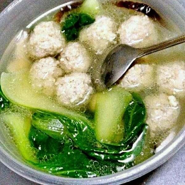 丸子青菜汤