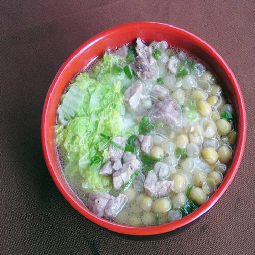 素炖变色豆