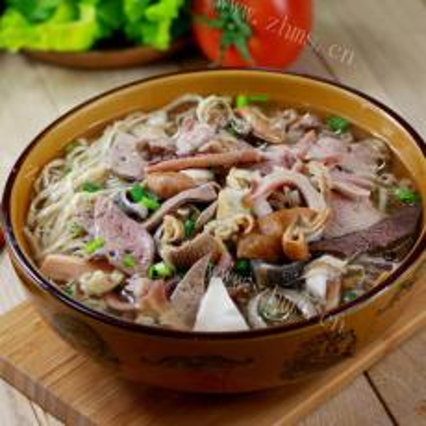 #爱美食#醋肉挂面