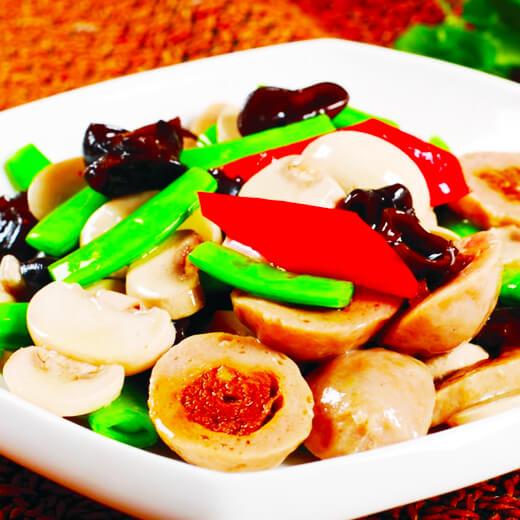 口蘑土豆烧排骨