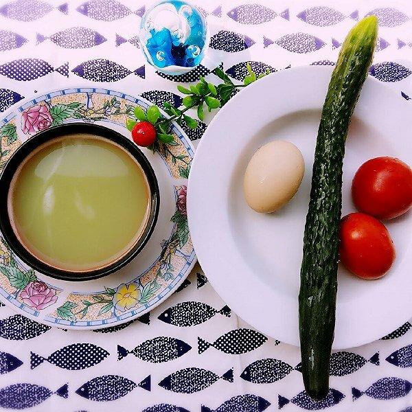香喷喷的三绿豆浆