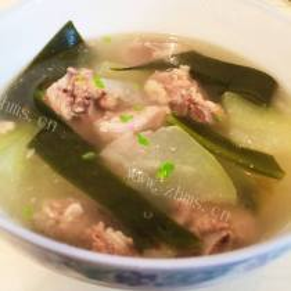 冬瓜小排海带汤