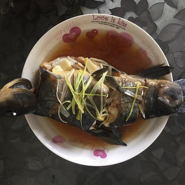 黑豆豉丁桂鱼