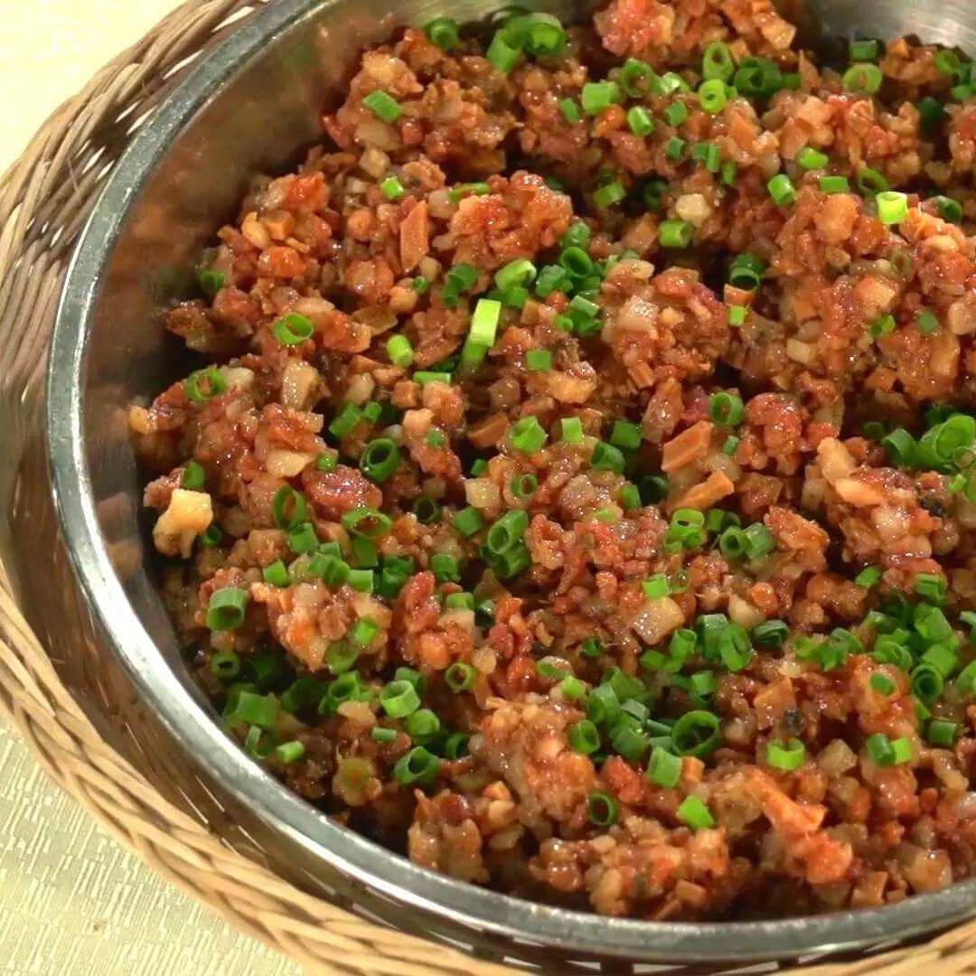 家庭版-猪肉蒸头菜