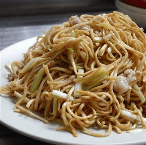 大豆芽肉丝炒潮式枧水