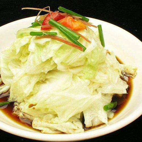 椒油糖醋白菜