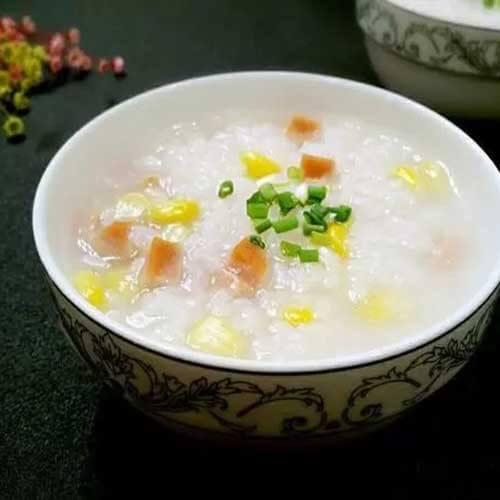 美味健康虾仁白菜粥