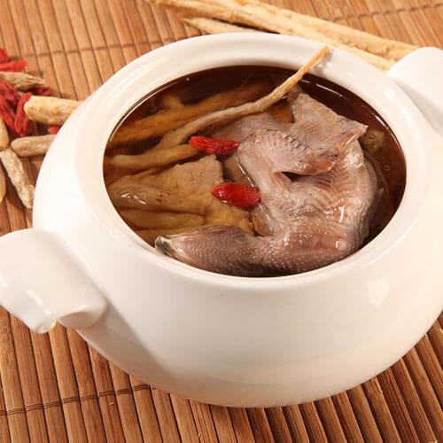 乳鸽瘦肉汤