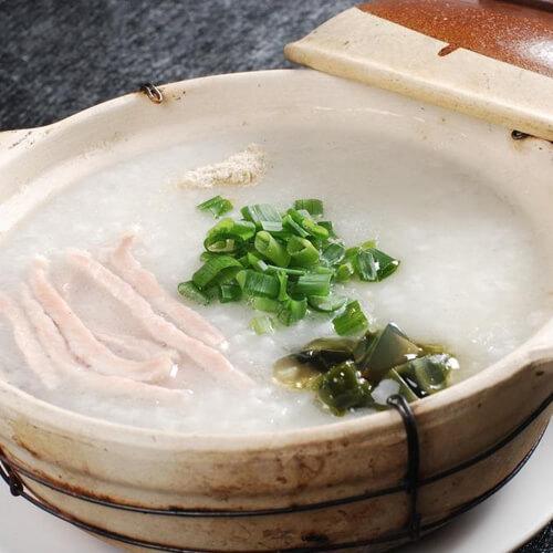 美味的鱼鳔瘦肉粥